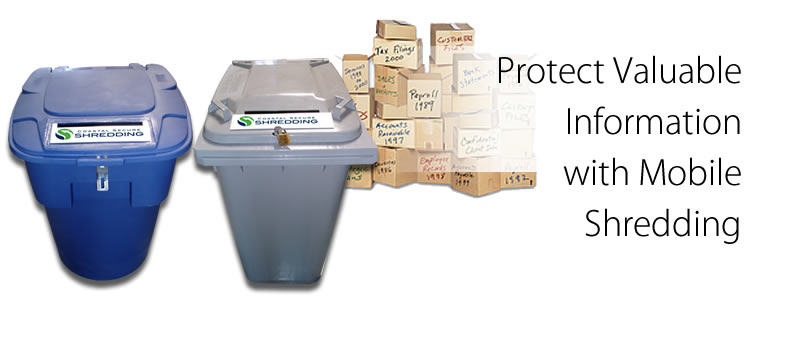 Protect valuable information with mobile shredding